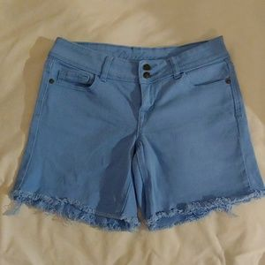 "Delia ""Bailey"" Blue Shorts Juniors 5/6"